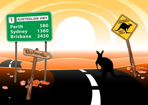 Driving around Oz