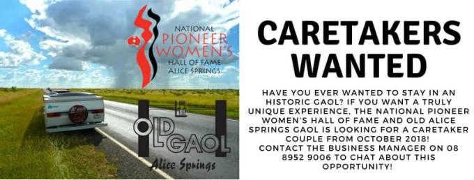 Caretaker Advert